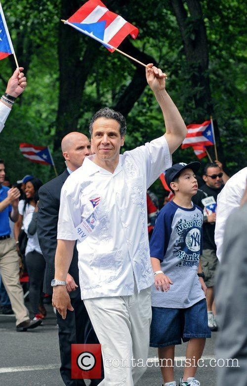 Andrew Cuomo 2011 National Puerto Rican Day Parade...