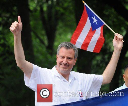 Bill de Blasio 2011 National Puerto Rican Day...
