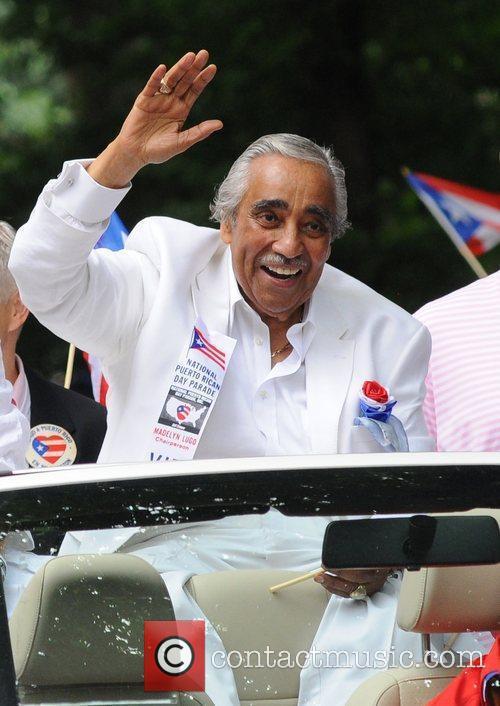 Charles Rangel 2011 National Puerto Rican Day Parade...