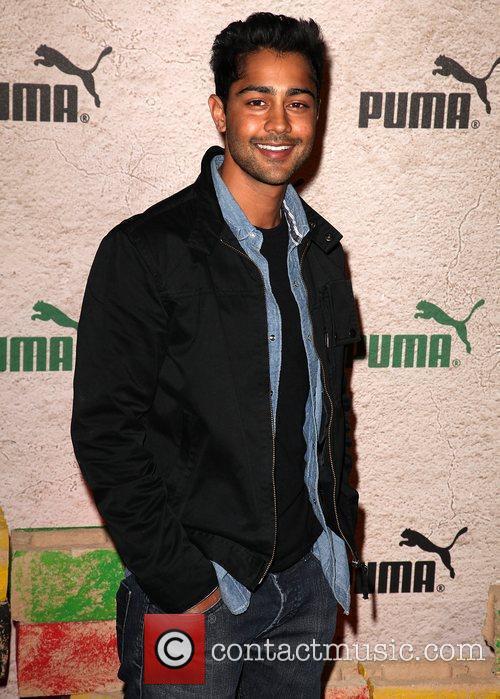 Manish Dayal PUMA Presents 'Riddim & Run' benefiting...