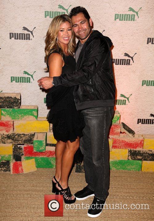 Michelle Damon and Johnny Damon PUMA Presents 'Riddim...
