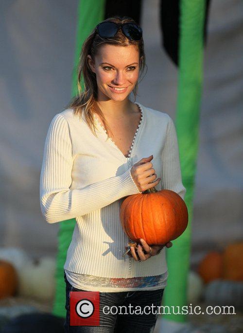 Caitlin O'Connor visits Mr. Bones Pumpkin Patch in...