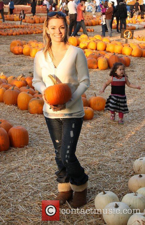Caitlin O'Connor visit Mr. Bones Pumpkin Patch in...