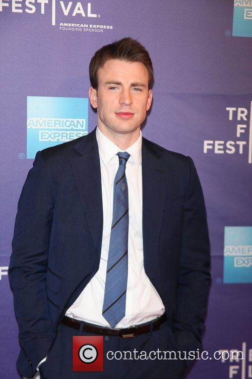 Chris Evans at the premiere of 'Puncture' at...