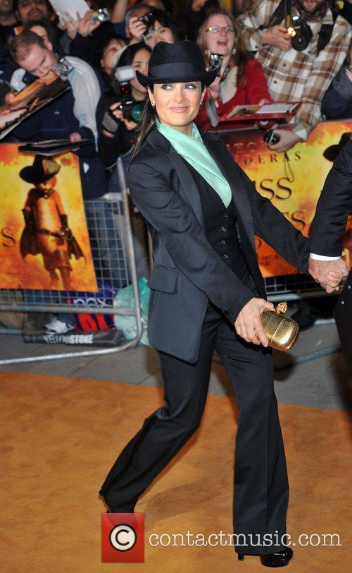 Puss In Boots - UK film premiere held...