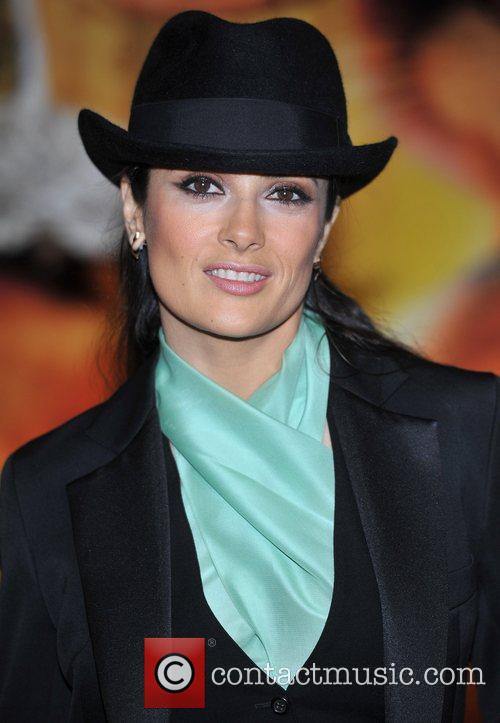 Salma Hayek and Empire Leicester Square 5