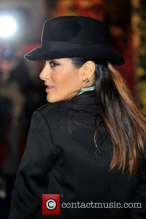 Salma Hayek and Empire Leicester Square 6