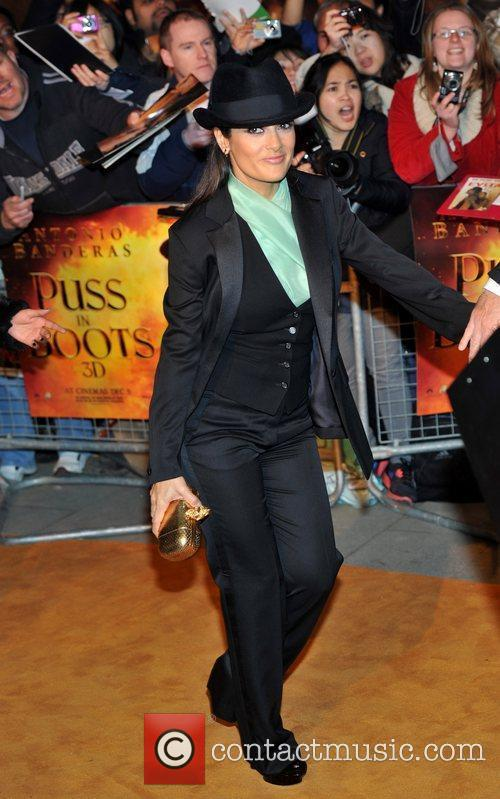 Salma Hayek and Empire Leicester Square 4