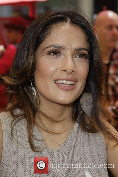 Salma Hayek The premiere of 'Puss In Boots...