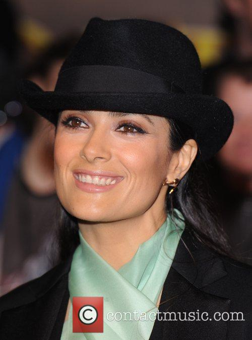Salma Hayek and Empire Leicester Square 10