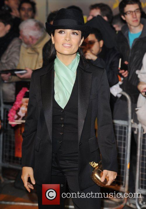 Salma Hayek and Empire Leicester Square 9