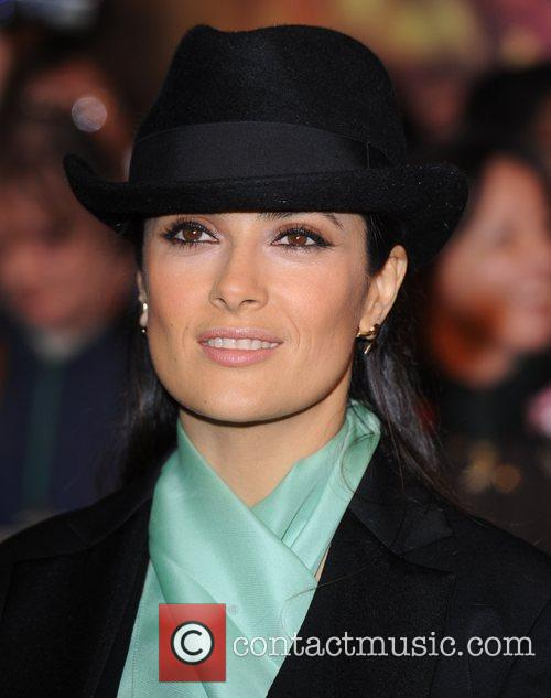 Salma Hayek and Empire Leicester Square 11