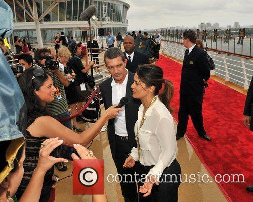 Antonio Banderas, Dreamworks, Fort Lauderdale and Salma Hayek 8