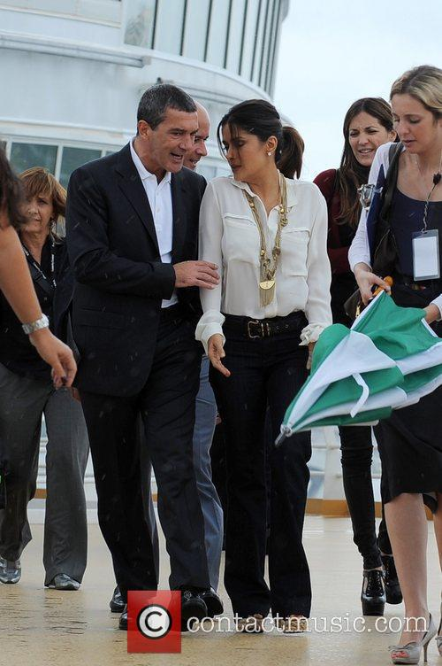 Antonio Banderas, Dreamworks, Fort Lauderdale and Salma Hayek 11