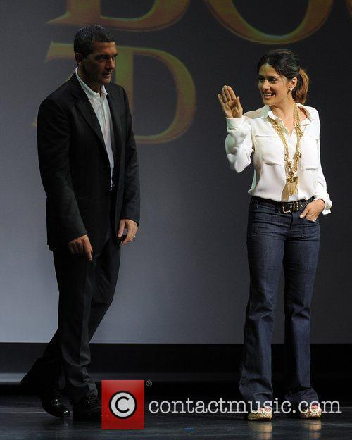 Antonio Banderas, Dreamworks, Fort Lauderdale and Salma Hayek 5