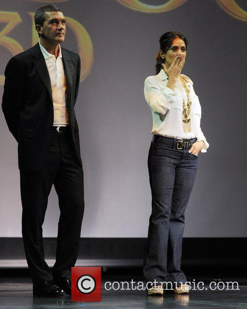 Antonio Banderas, Dreamworks, Fort Lauderdale and Salma Hayek 10