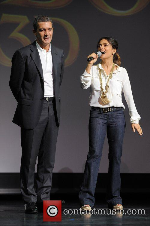Antonio Banderas, Dreamworks, Fort Lauderdale and Salma Hayek 9