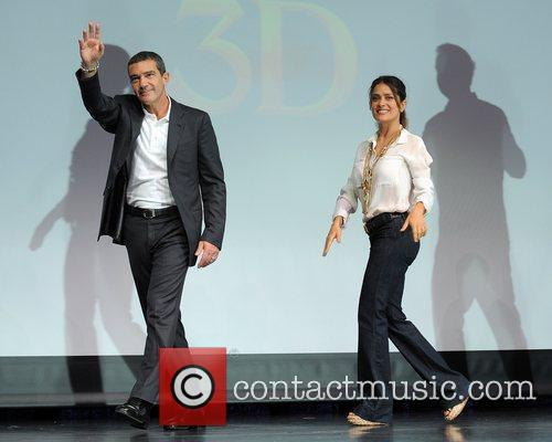 Antonio Banderas, Dreamworks, Fort Lauderdale and Salma Hayek 7