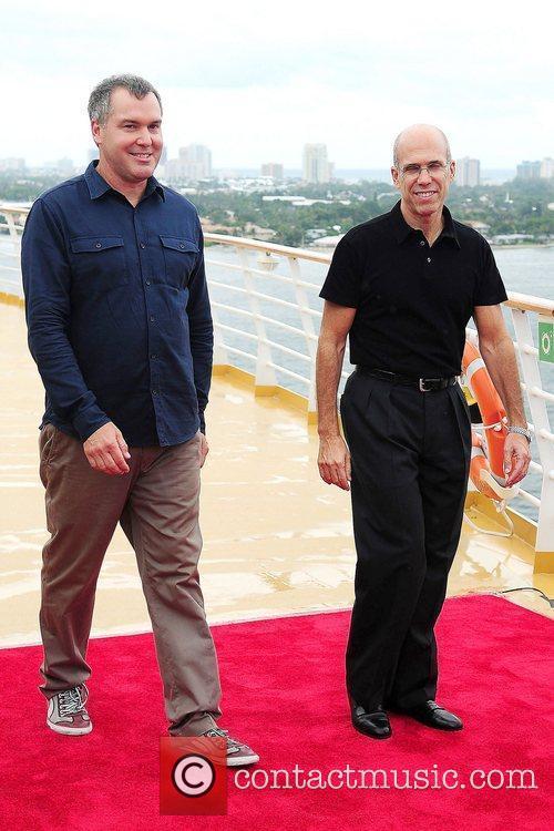 Chris Miller and Jeffrey Katzenberg 1