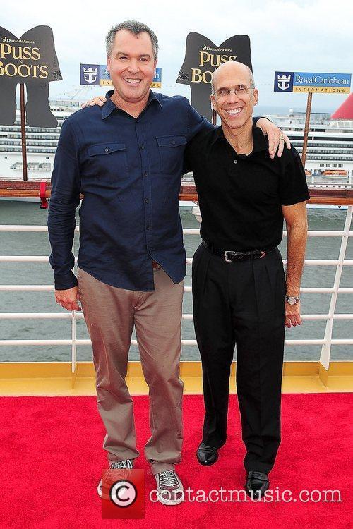 Chris Miller and Jeffrey Katzenberg 2