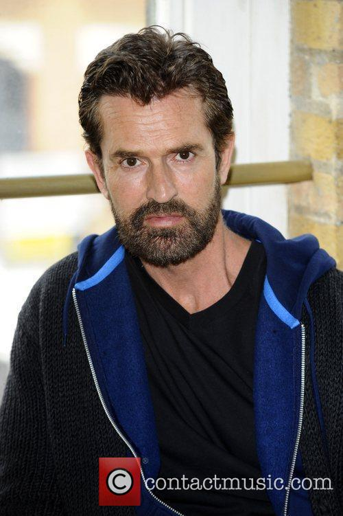 Rupert Everett at the first day of rehearsals...