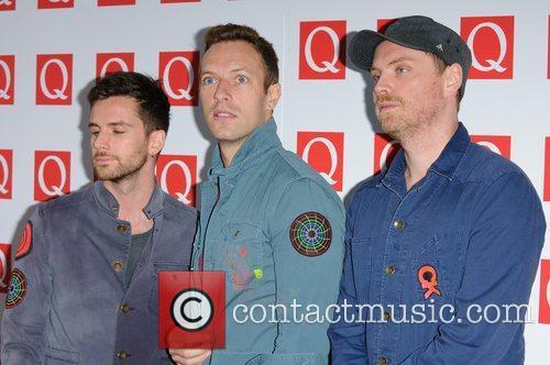 Guy Berryman, Chris Martin, Coldplay and Grosvenor House 4