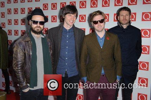 Ricky Wilson, Kaiser Chiefs, Nick Hodgson, Simon Rix and Grosvenor House 4