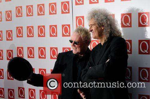 Roger Taylor, Brian May and Grosvenor House 10