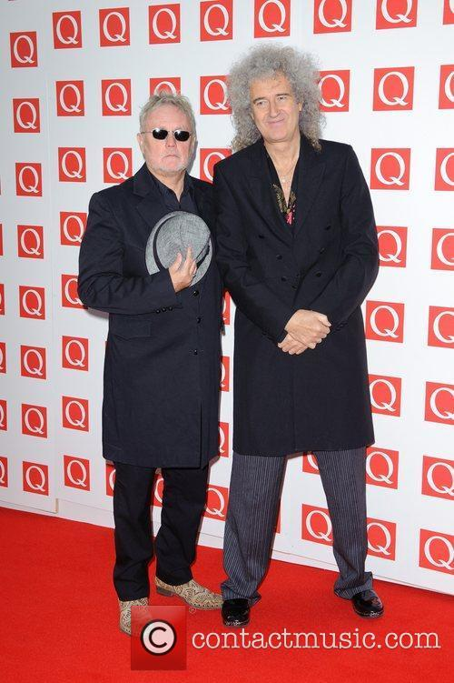 Roger Taylor, Brian May and Grosvenor House 9