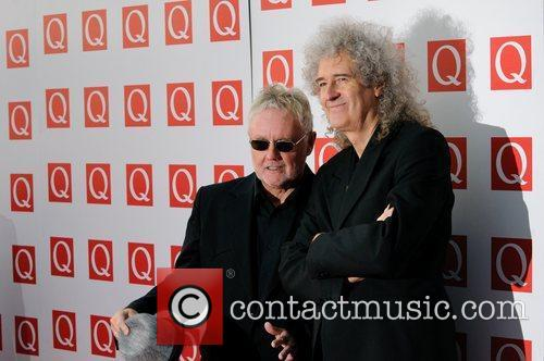 Roger Taylor, Brian May and Grosvenor House 11