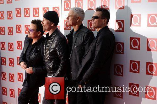 U2 at the 2011 Q Awards