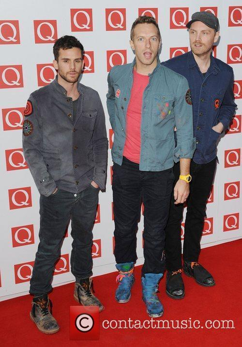 Guy Berryman, Chris Martin, Coldplay and The Q Awards 3