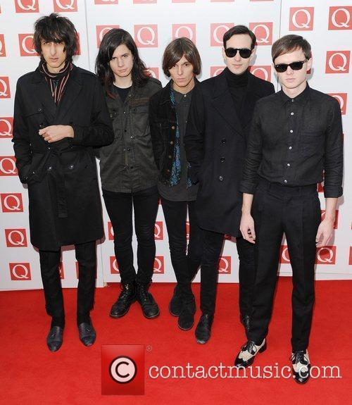 The Horrors and The Q Awards 1