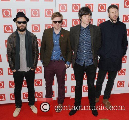 Ricky Wilson, Kaiser Chiefs, Nick Hodgson, Simon Rix and The Q Awards 2