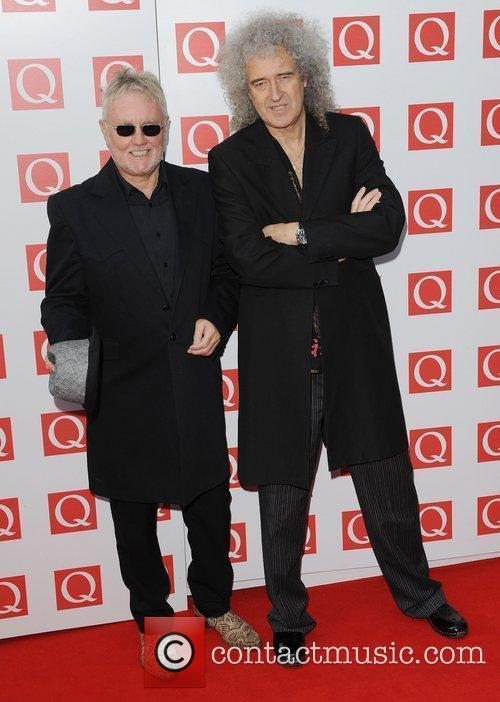 Roger Taylor, Brian May and The Q Awards 3
