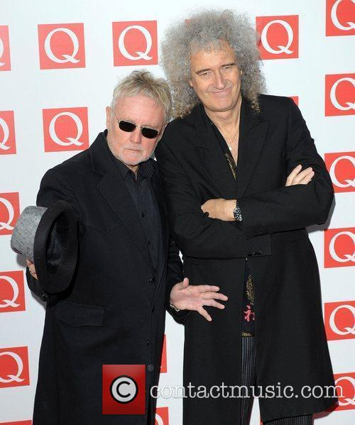 Roger Taylor, Brian May and The Q Awards 2