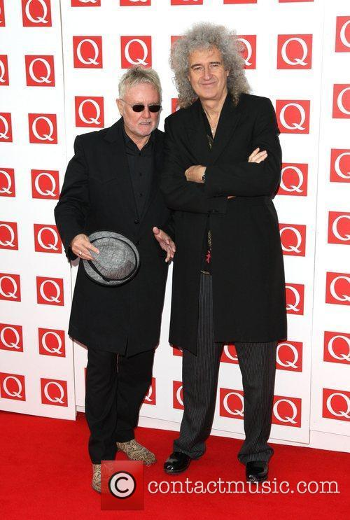 Roger Taylor, Brian May and Grosvenor House 4