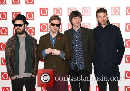 Ricky Wilson, Kaiser Chiefs, Nick Hodgson, Simon Rix and Grosvenor House 3