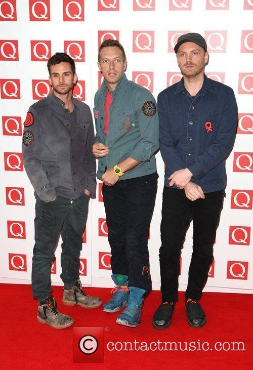 Jonny Buckland, Chris Martin, Coldplay, Guy Berryman and Grosvenor House 4
