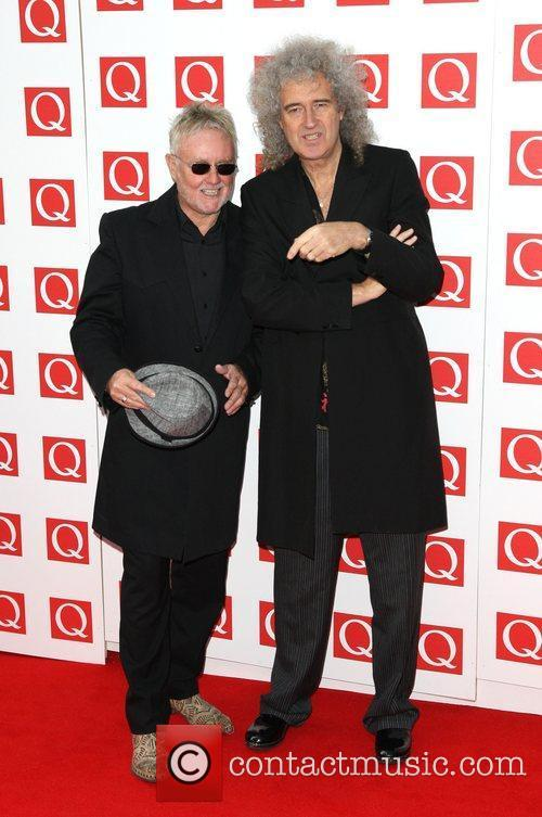 Roger Taylor, Brian May and Grosvenor House 6