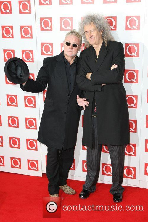 Roger Taylor, Brian May and Grosvenor House 1