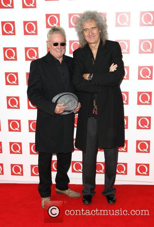 Queen's Roger Taylor and Brian May
