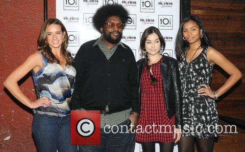 Ahmir 'Questlove' Thompson and Sasha Grey at the...