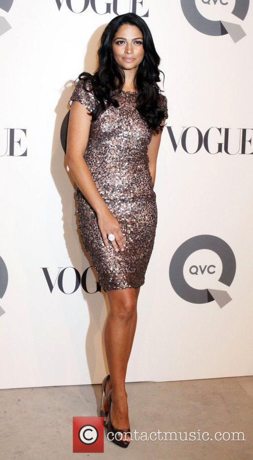 Camila Alves QVC 25 to Watch party -...