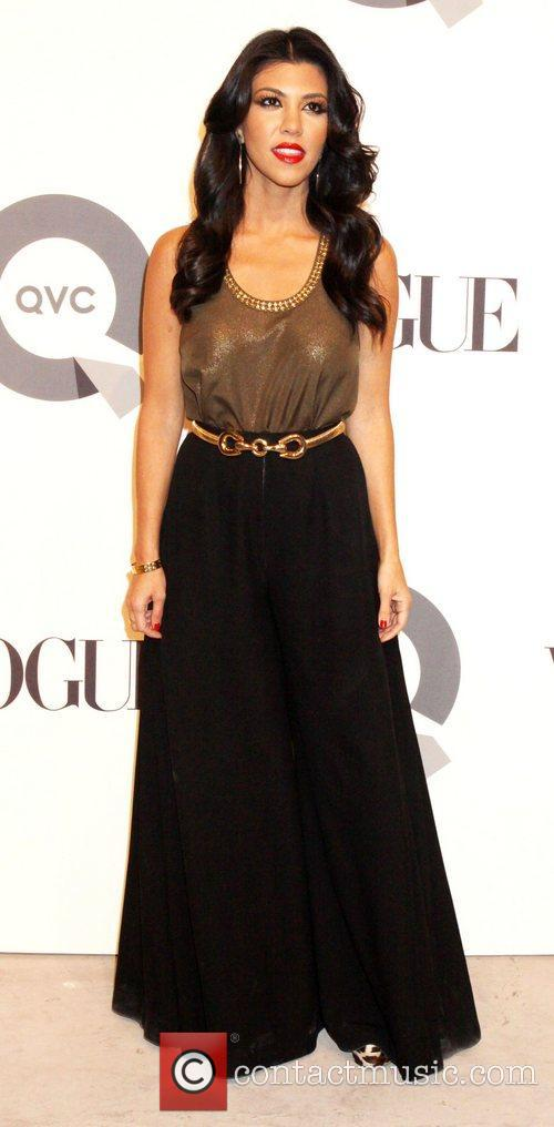 Kourtney Kardashian QVC 25 to Watch party -...