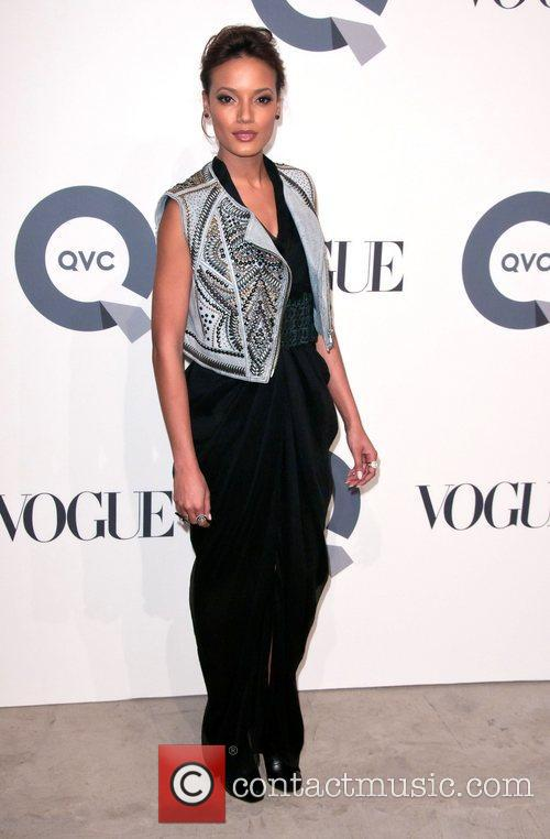 Selita Ebanks QVC 25 to Watch party -...
