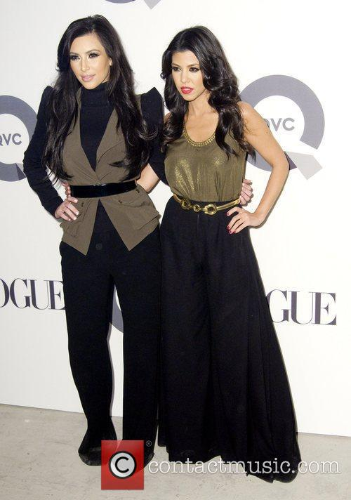 Kim Kardashian and Kourtney Kardashian QVC 25 to...