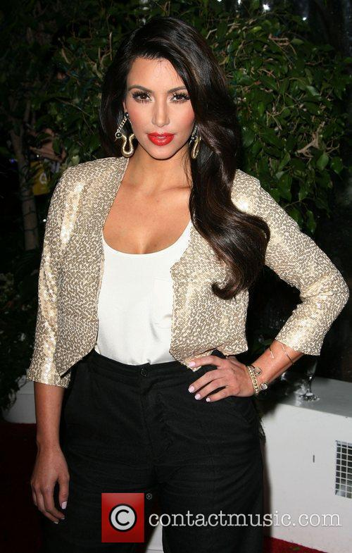 Kim Kardashian QVC Red Carpet Style Party held...