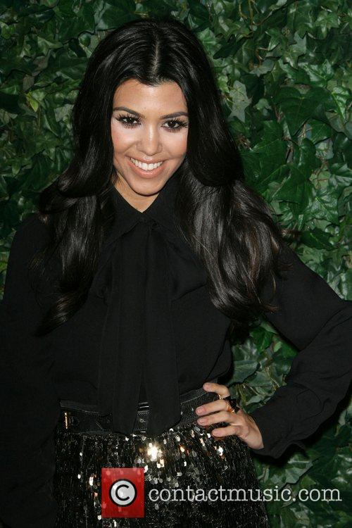 Kourtney Kardashian QVC Red Carpet Style Party held...