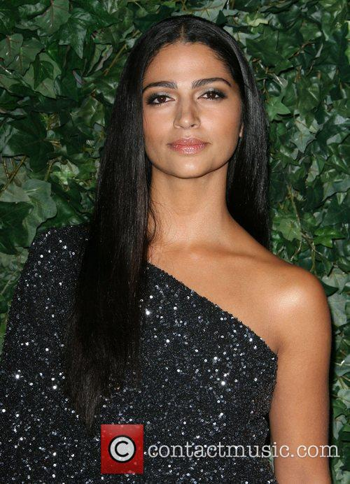 Camila Alves QVC Red Carpet Style Party held...